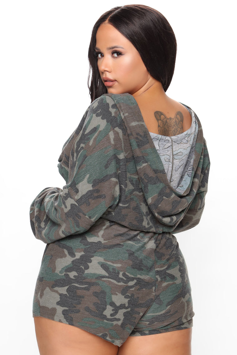 Bodied By Camo Matching Set - Camouflage