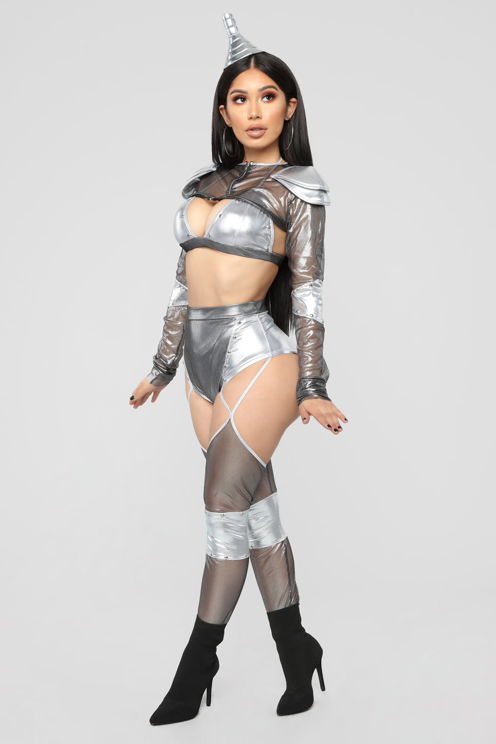 Heart Of Tin Costume - Silver