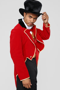 Ringmaster Costume - Red/combo