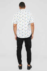 Manning Short Sleeve Woven Top - Multi Angle 5