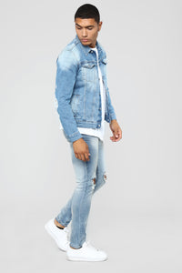 Ibiza Denim Jackets - Medium Blue Wash