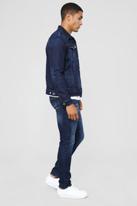 Club 55 Skinny Jeans - Medium Blue Wash