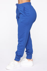 Latest And Greatest French Terry Jogger - Royal Blue