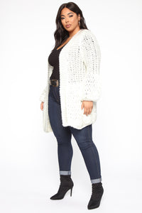Say It Again Cardigan - Ivory