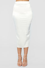 Across The Galaxy Skirt   Ivory by Fashion Nova