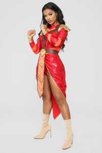 Ferocious Femme Costume - Red