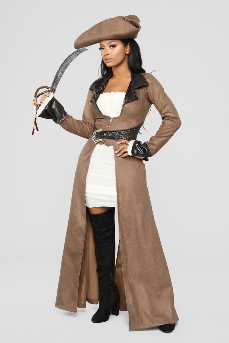 Pirate Booty Diva Costume - Brown