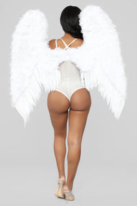 Feather Wings - White