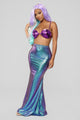 Mermaid Skirt Costume - Blue