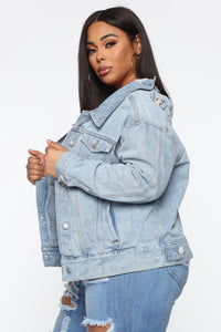 Your Irrelevant Denim Jacket - Light Watch