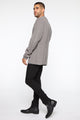 Wesley Cardigan Sweater - Heather Grey