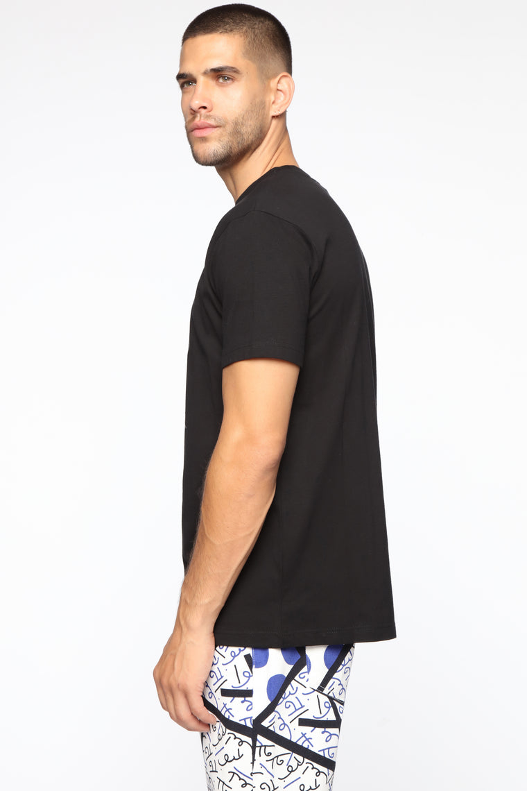 Keep It Skully Short Sleeve Top - Black/Combo