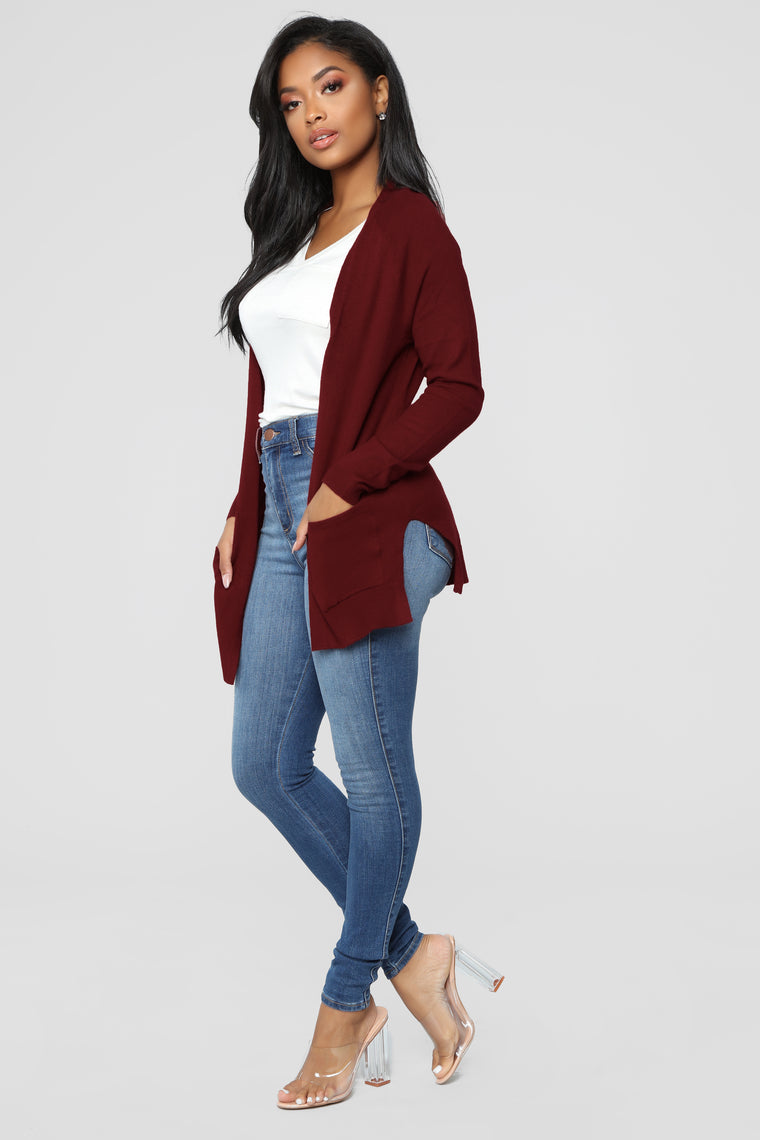 Ashley Cardigan - Red