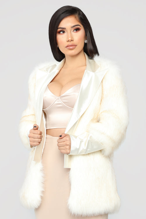 Like A Star Fur Coat - Ivory