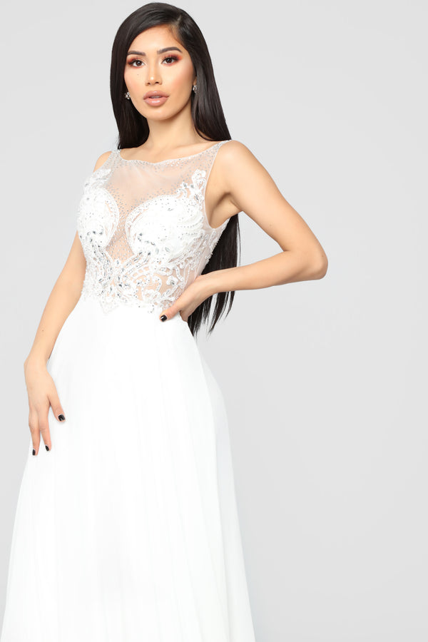 40269b32f18 She Is Grace Embellished Gown - Off White