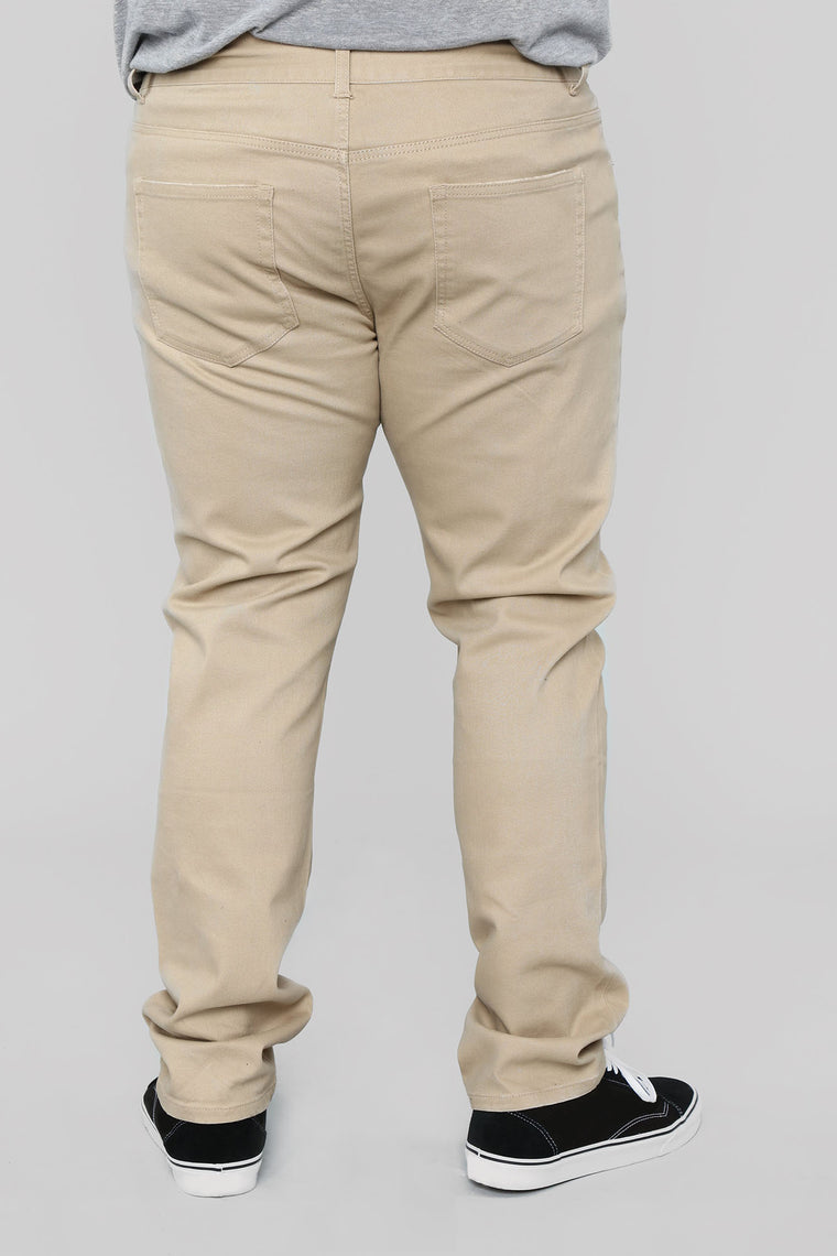 Mac Chino Pants - Khaki