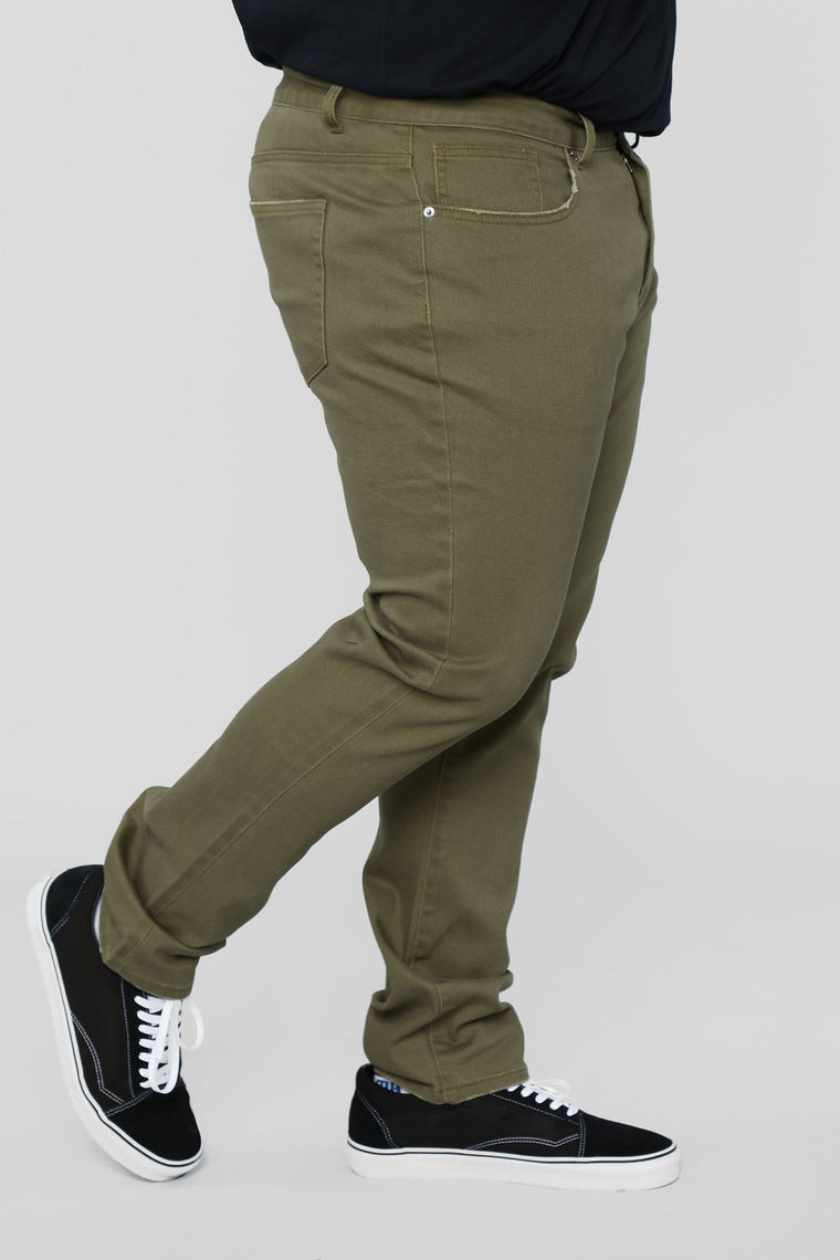 Mac Chino Pants - Sage