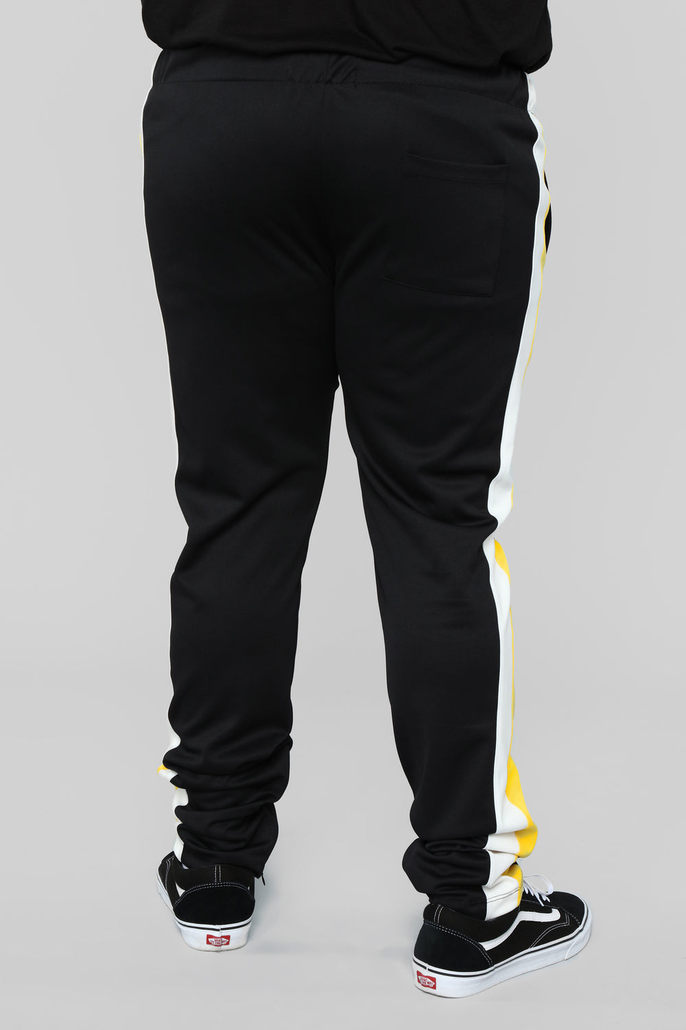 Retro V2 Track Pants - Black/Combo