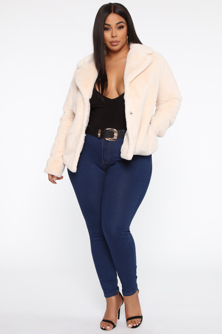 This One's Fur You II Jacket - Ivory