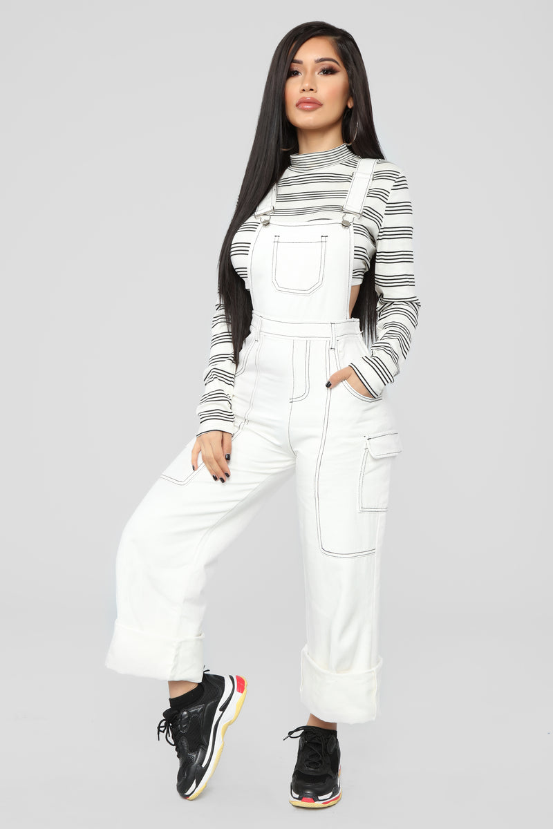 California Love Overall - White