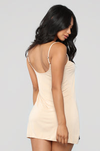 Secrets Untold Night Dress - Nude