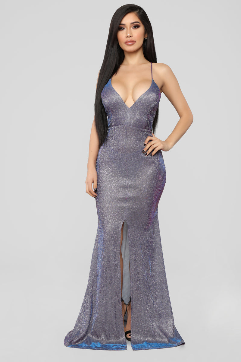 I Could Fall In Love Maxi Dress - Purple