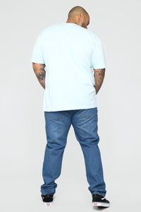 Essential Crew Tee - Blue Angle 10