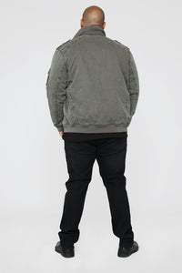 The Cadet Military Jacket - Grey