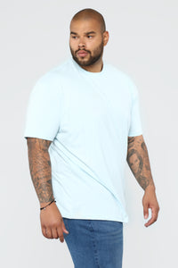 Essential Crew Tee - Blue Angle 8