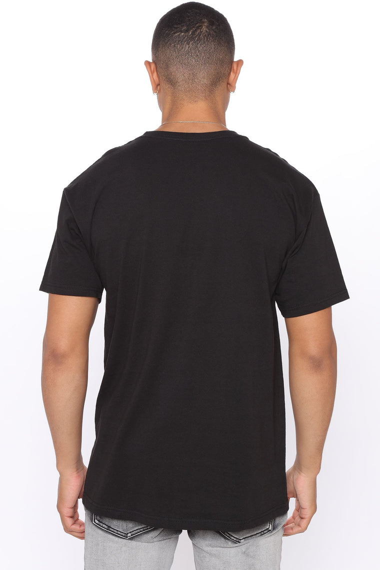 Steady Drippin Short Sleeve Tee - Black