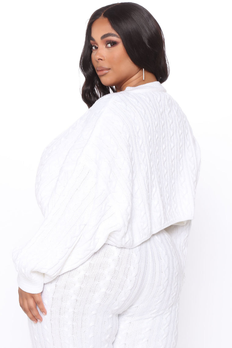 Meet Me Half Way Sweater - Ivory