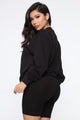 Yuck Fou Sweatshirt - Black