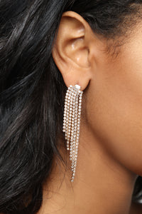In Awe Earrings - Gold