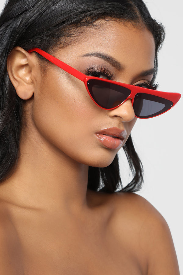 8f634f269e For Your Protection Sunglasses - Red Black