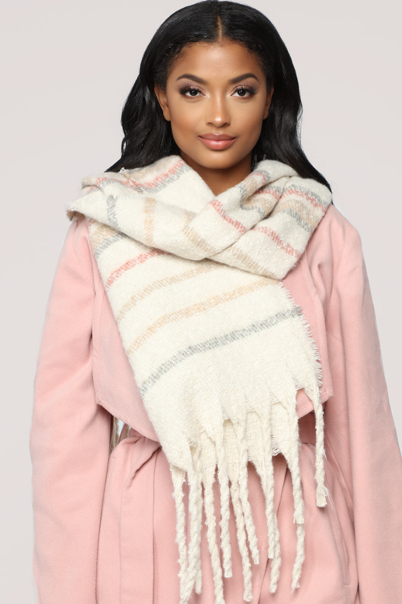 Luxe And Ready Scarf - Ivory