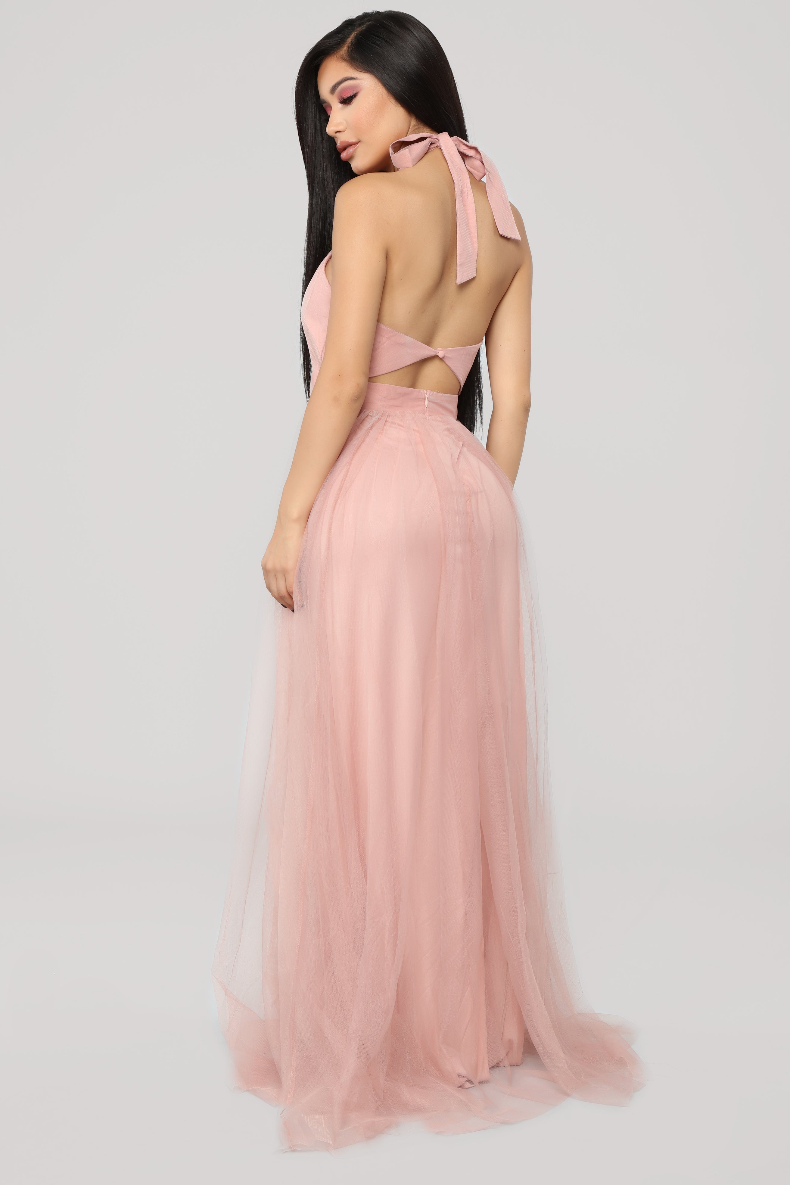 c41d33039a45 Off The Tulle Gown - Blush