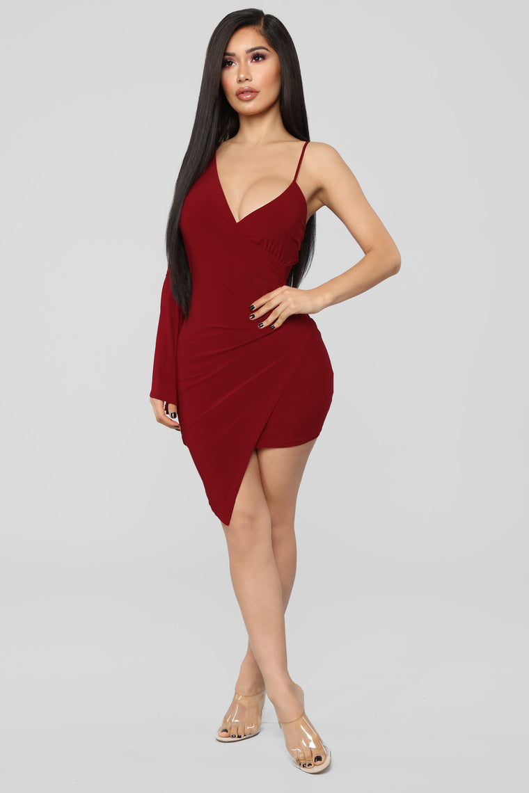 Let's Go Party Mini Dress - Red