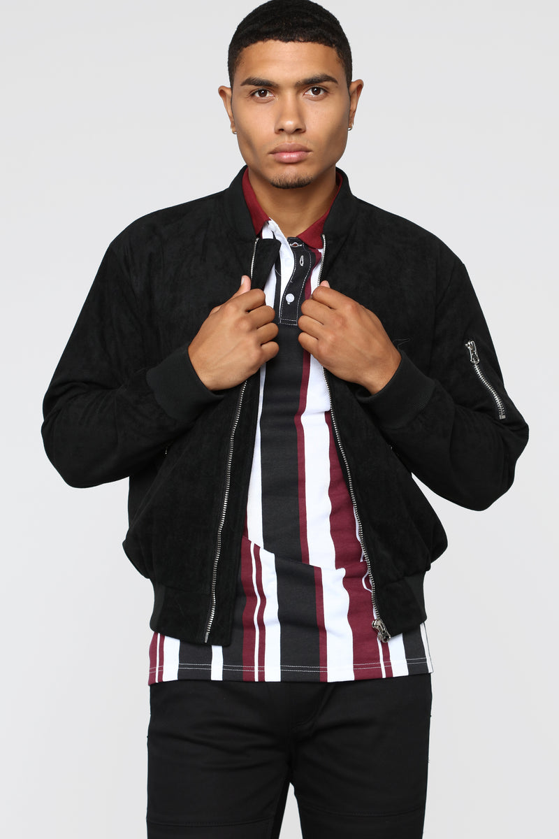 Tommy Casual Jacket - Black