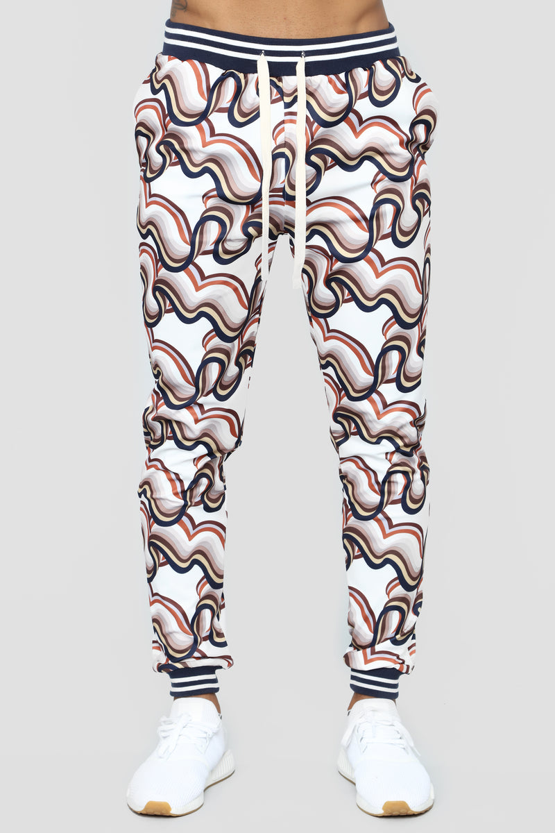 All About The Waves Joggers - Multi
