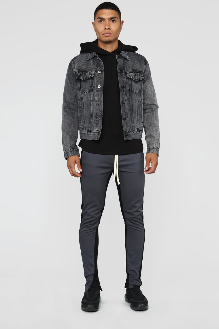Evan Denim Jacket - Black
