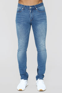 Melvin Skinny Jeans - Medium Blue Wash Angle 1