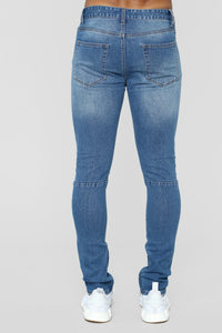 Melvin Skinny Jeans - Medium Blue Wash Angle 5