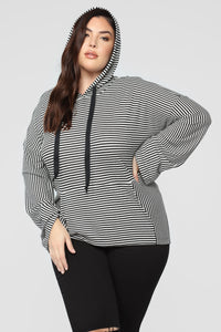 No Grey Area Top - Black