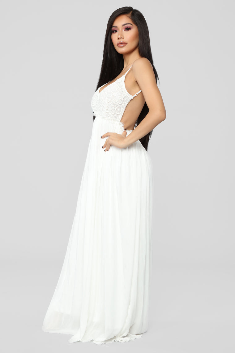 Ancient Rome Dress - White