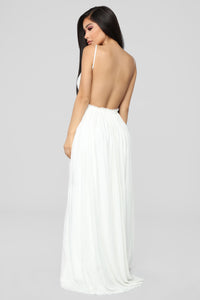 Ancient Rome Dress - White Angle 5
