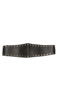 Wrapped Around You Belt - Gold/Black Angle 2