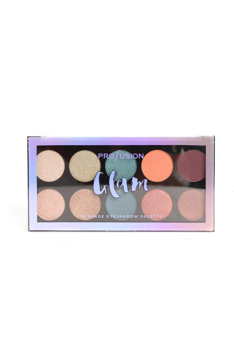 Profusion Cosmetics Glam 10 Eyeshadow Palette