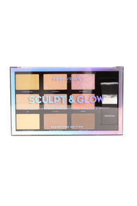 Profusion Cosmetic Sculpt & Glow 9 Color Contour & Highlight