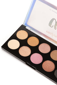 Profusion Cosmetics Chic 10 Eyeshadow Palette