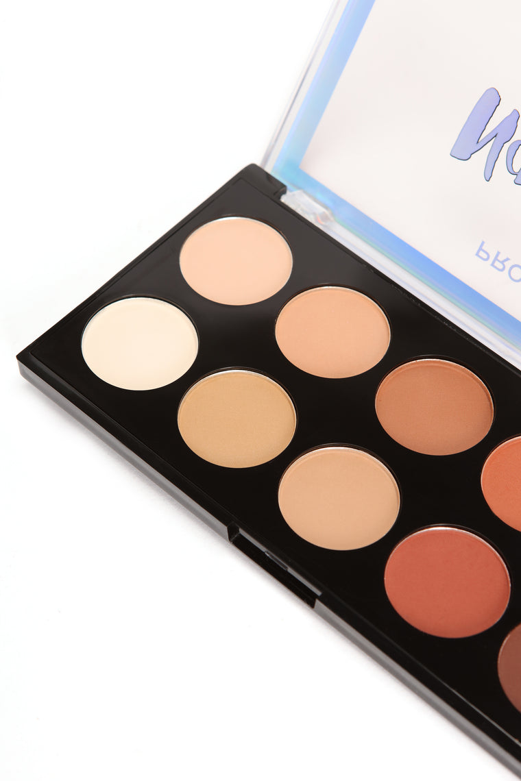 Profusion Cosmetics Natural 10 Eyeshadow Palette
